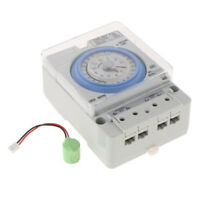 24H Timer Switch Mechanical Timing Switch Industrial Analogue Timer DIN RAIL