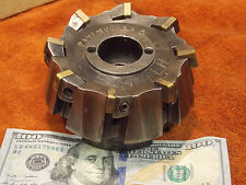 """Kennametal 4"""" shell face mill 1.5"""" arbor sz. 8 indexable carbide insert facemill"""