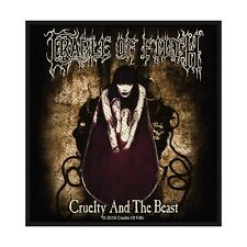 """CRADLE OF FILTH - """"CRUELTY AND THE BEAST"""" WOVEN SEW ON PATCH"""