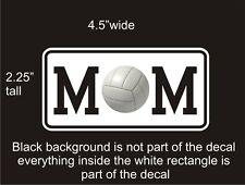 Volleyball Mom car vinyl decal great stocking stuffer bumper sticker NEW