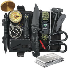14-in-1 life-saving equipment kit,hunting tools outdoor camping emergency knife