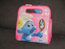 The Thermos Smurfs Vanity Smurf Pink Girls Lunch Box Bag Tote Insulated