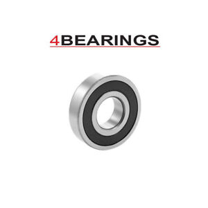 MINIATURE BALL BEARINGS 603 - 699 2RS SERIES METRIC RUBBER SEALED FAST POST