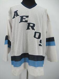 L7368 VTG SP American Hockey League Houston Aeros Hockey Jersey Size 52