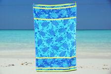 Toalla De Playa Jumbo Extra Grande 100% Algodón Velour Baño De Vacaciones Nuevo
