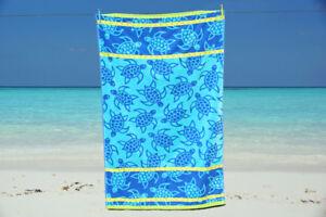 Beach Towel Jumbo Extra Large 100% Cotton Velour Bath Sheet Holidays NEW