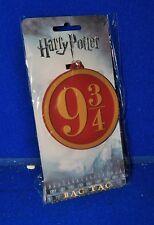 New Harry Potter Bag Luggage Tag Back School Ruck Sack Platform 9 3/4 Official