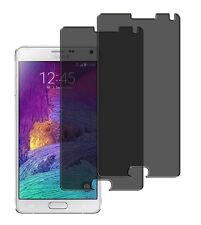 2 x Blickschutzfolie Samsung Galaxy Note 4 Privacy Displayschutz Folie Antispy