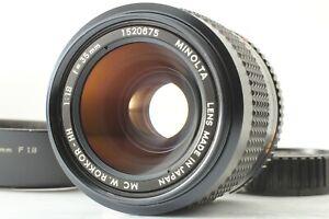 [Near MINT+++] MINOLTA MC W ROKKOR-HH 35mm F1.8 Wide Angle Lens from JAPAN