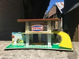Ancien Garage NIL 50 cm X 20 cm - Station Service Total - Made In France