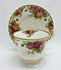 Royal Albert Old Country Roses Cup and Saucer England 1962