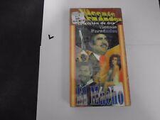 VHS:VICENTE HERNANDEZ COLECCION DE ORO EL MACHO EN ESPANOL