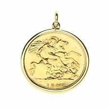 1897 Gold Half-Sovereign Pendant - 4.7g