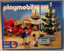 Playmobil  4892 Christmas Room, Tree Lights Up  -  NEW