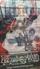 Force of Will FOW A1 Valentina, the Ruler of Paradise ORIGINAL WALL BANNER NEW