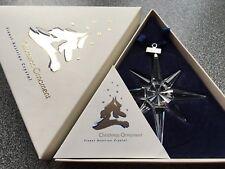 Swarovski 1995 Large Christmas Ornament/Star, Complete & Perfect !!!