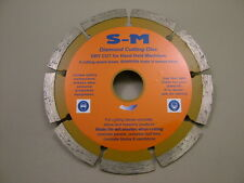 """Diamond blade disc 125mm/5"""" for brick stone concrete, good disc for a low price"""