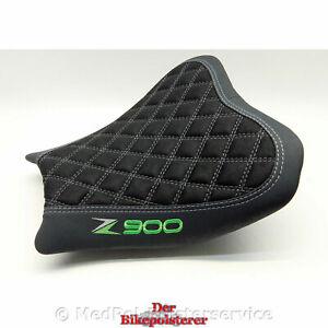 """Kawasaki """"Z900"""": 2 x Stickerei, Rautensteppung, Ziernähte ➤➤ Sitz *NEU* beziehen"""