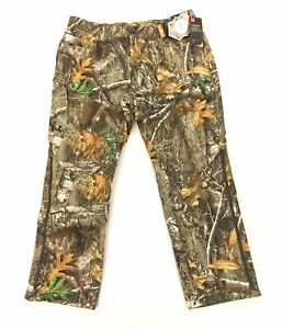 NEW Under Armour Brow Tine Hunting Pants Camo Storm Water Resistant Mens Size XL