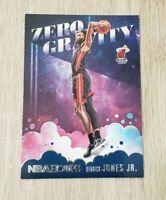 Derrick Jones Jr Zero Gravity Panini NBA Hoops 2020-21 Card #4