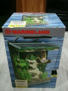 "Marineland ""Portrait"" Glass LED Aquarium Kit, 5 Gal. Hidden Filtration System"