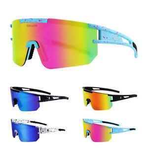 Cycling Windproof Polarized Sunglasses TR90 MTB BMX XC Road Bike Sports Glasses