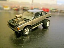 Johnny Lightning 1981 '81 Chevy Malibu - Zingers Black/Silver 1:64