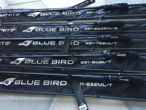 Favorite spinning rod Blue Bird BB1-732L-T new models 2020 micro jig, light jig