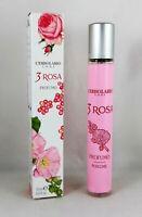 L'ERBOLARIO Profumo 3 ROSA 15ml donna Rosa centifolia  Malvarosa e Pepe Rosa