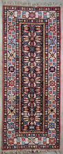 Tapis ancien antique rug Lys de France 1950