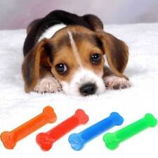 Pet Dogs Teeth Flat Bone Games Chew Toy Bite Teeth Stick Health Resistant Clean