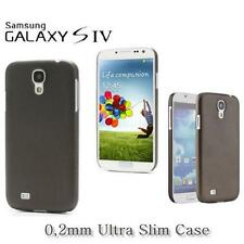 Ultra Slim 0,2mm Schutzhülle für Samsung Galaxy S4 Cover Silikon Hülle Schwarz