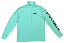 NWT High-End Performance 1/4 Zip Pullover, S-2XL, Teal - Retail $60
