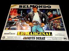 belmondo LE MARGINAL  ! rare model affiche cinema sur la largeur