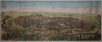 Ierusalem - Seltene, große Ansicht von Jerusalem - Dapper 1677 -Rare, large view