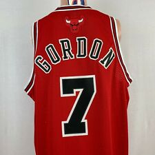 New Reebok Ben Gordon Chicago Bulls Swingman Jersey NBA Basketball Sewn Size L