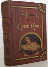 JULES VERNE A Journey to the Centre Center of the Earth FIRST EDITION 1874