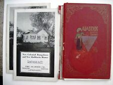 "1921 ""The Aladdin Co."" Home Construction Books w/ Floor Plans & Prices *"