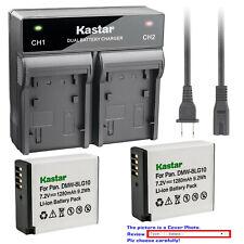 Kastar Battery AC Rapid Charger for DMW-BLG10PP BLG10 & Panasonic Lumix DMC-GX7K