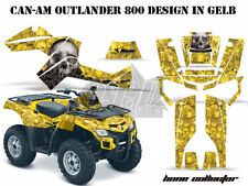 Amr racing DECOR Kit ATV Can-Am Outlander Graphic Kit Bone Collector B