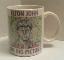 "RARE 1997 ELTON JOHN ""THE BIG PICTURE"" Concert Tour 4"" Ceramic Mug"