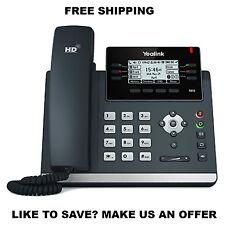 Yealink YEA-SIP-T41S IP Desk Phone, Optima HD voice,  Up to 6 SIP accounts