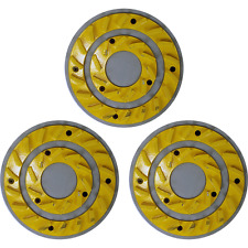 "CIMEX 19"" Yellow Heavy Duty Smooth Grind Diamond Blades - Set of 3 - YEL20HD"