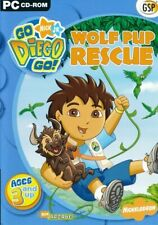 GO DIEGO GO - Wolf Pup Rescue - PC Childrens Software Ages 3 & Up (CD in Sleeve)