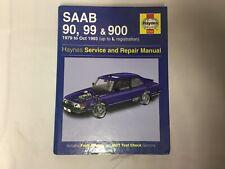SAAB 90, 99 & 900 1979 to Oct 93 - Haynes Service & Repair Manual 9781859600641