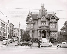 Victorian house San Francisco CA 1940s photo CHOICE 5x7 print or request 8x10 or