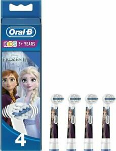 Braun Oral B Stages Power Frozen Replacement Tooth Brush 4 Heads Genuine New