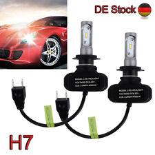 2x H7 100W 8000LM S1 CSP Chip LED Auto Scheinwerfer Birnen Headlight Kit Leuchte