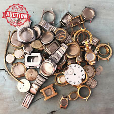 HUGE LOT Vintage Watch Parts Watchmaker's Estate Clearance - No Reserve Auction