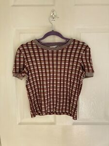 Zara Knit 90's Style Top Size Small